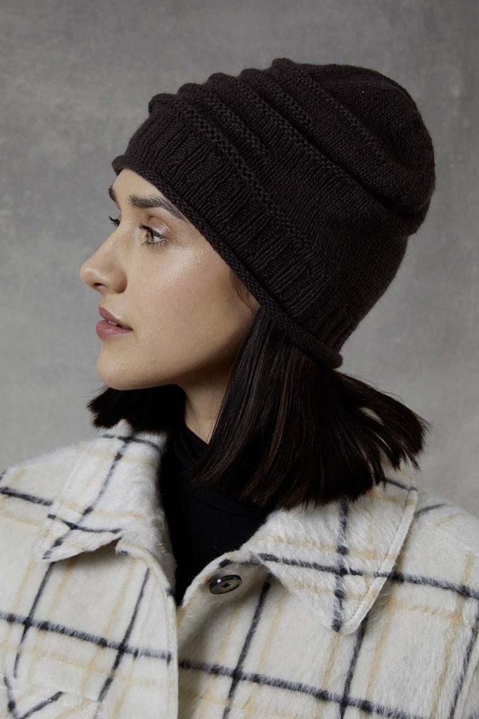 laine cachemire bonnet