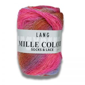mille coloris socks and lace lang yarns