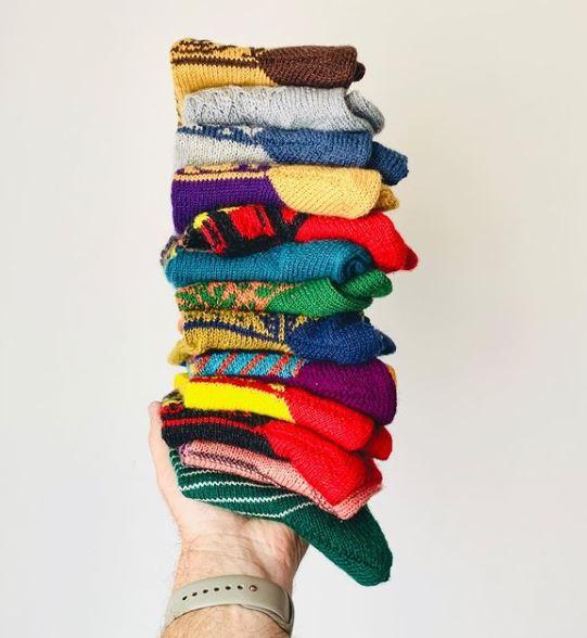 Livre Tricoter des chaussettes, c'est super chouette !