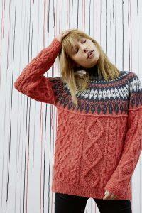 modèle tricot femme jacquard