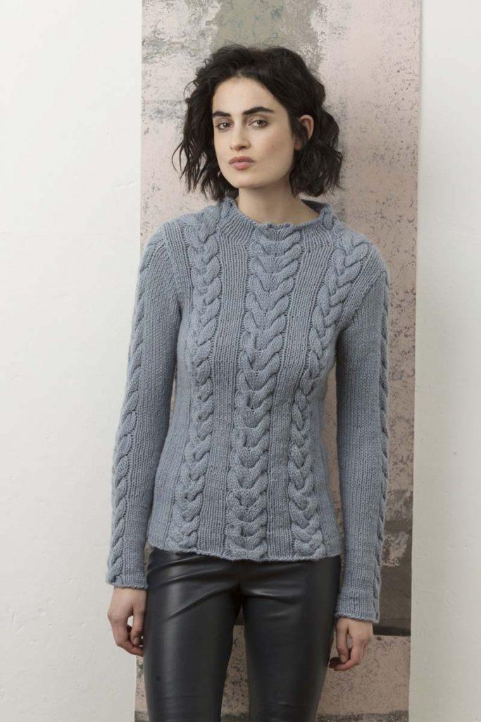 pull laine cachemire