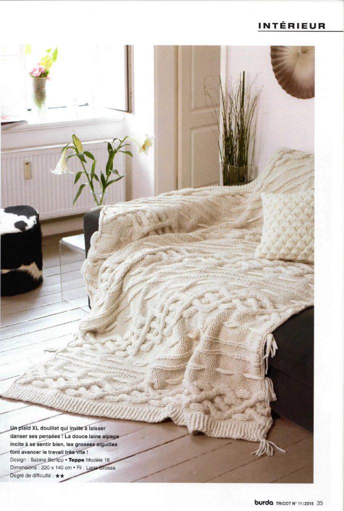 plaid intérieur lana grossa
