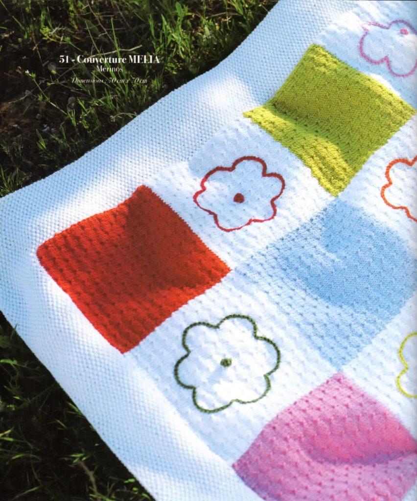 couverture tricot mélia anny blatt