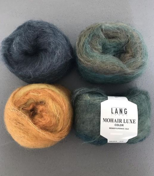mohair luxe color lang yarns