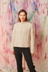 pull femme tricot