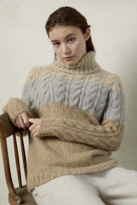 pull femme lang yarns
