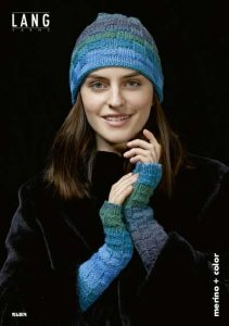 mitaines merino plus color lang yarns