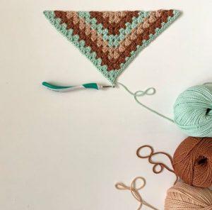 granny square coton janet lang yarns