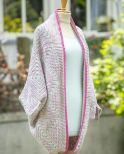veste femme crochet