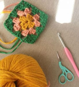 carré crochet coton happiness wooladdicts