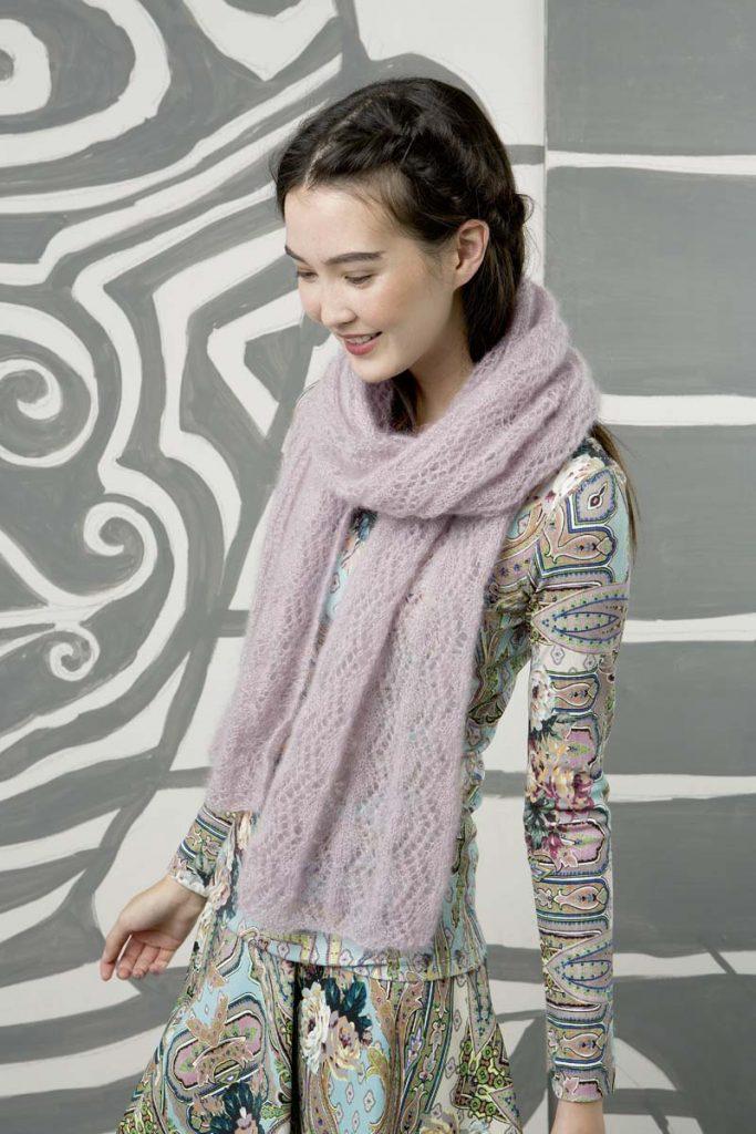 comment tricoter une étole