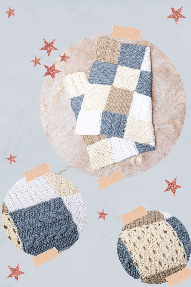 couverture layette coton Tissa Lang Yarns