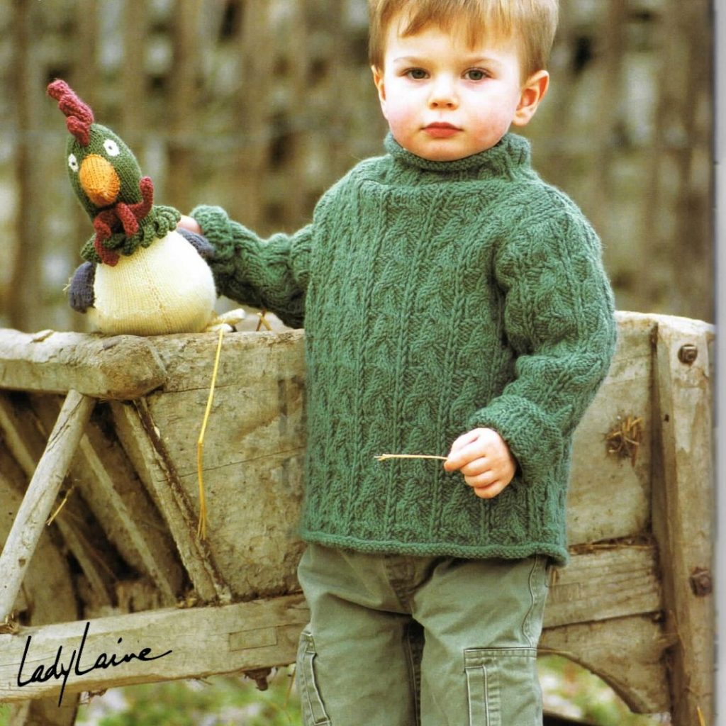 Poule catalogue layette Bouton d'Or