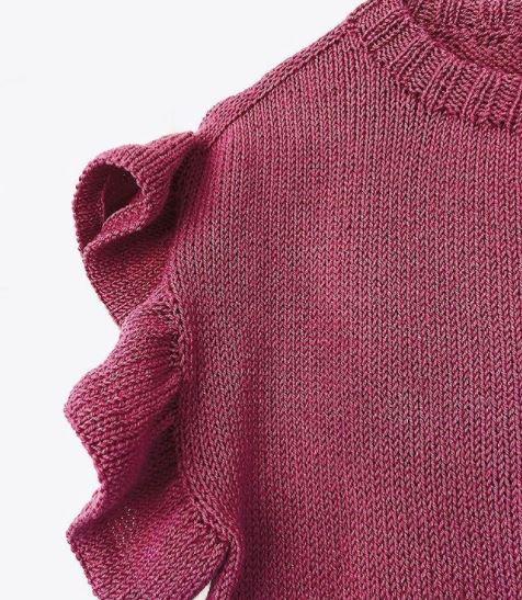 relever des mailles tricot