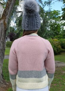 Dos Pull laine Love Wooladdicts Lang Yarns