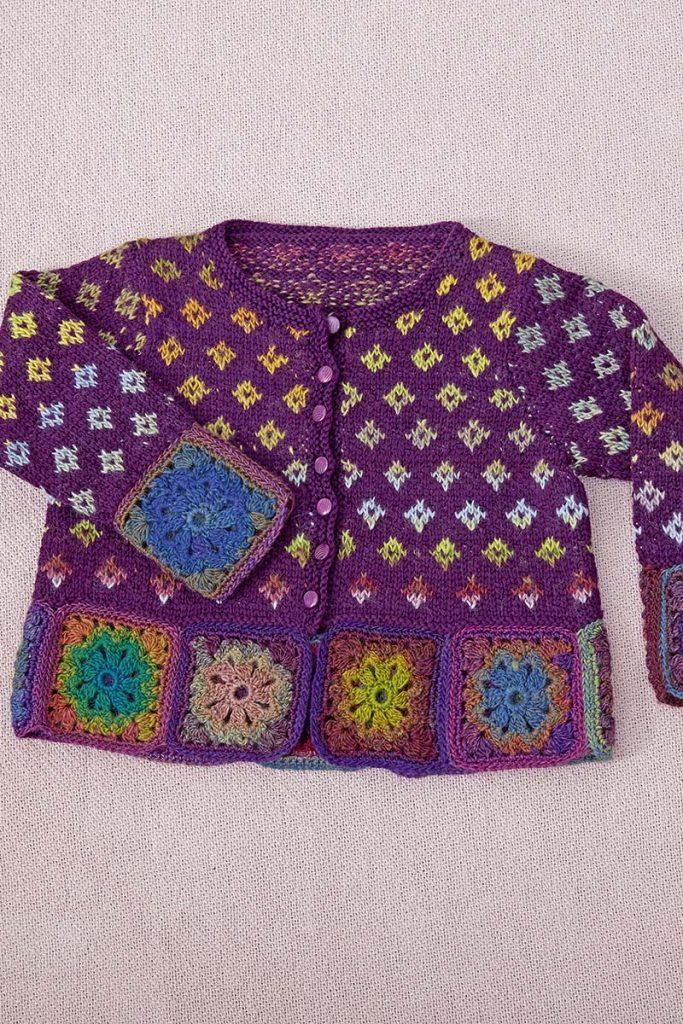 tricoter un gilet enfant