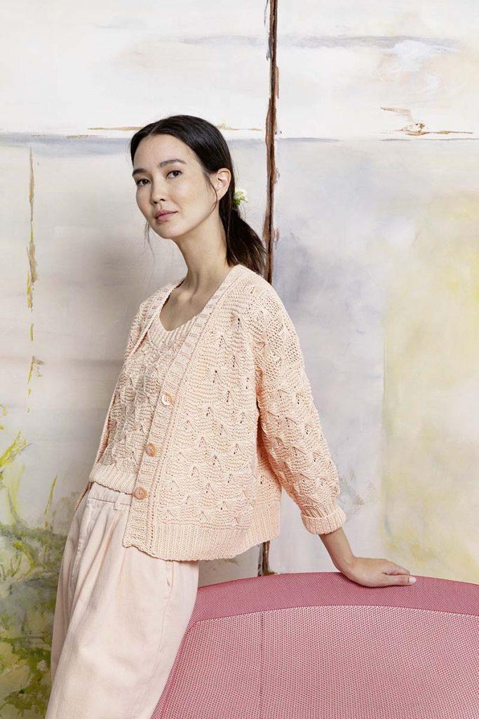 tricoter un gilet modèle