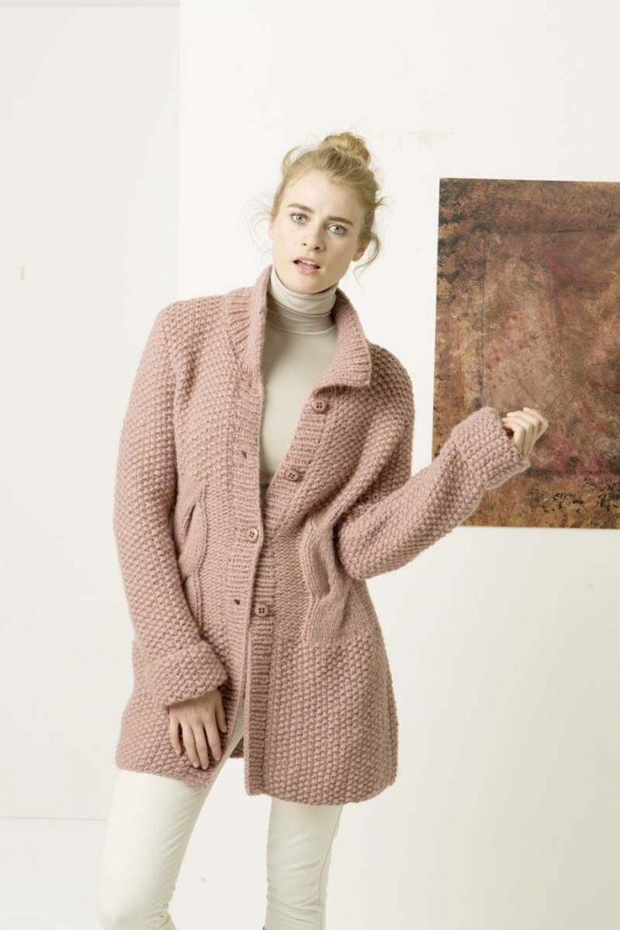 tricoter un gilet chaud