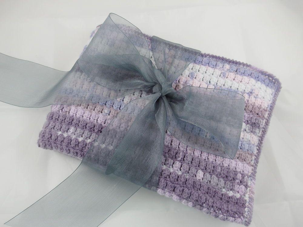 couverture layette crochet